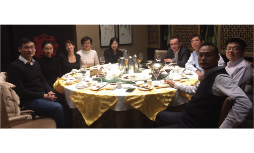 Alumni diner in China